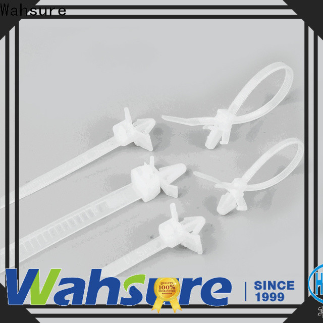 Wahsure self locking clear cable ties supply for industry