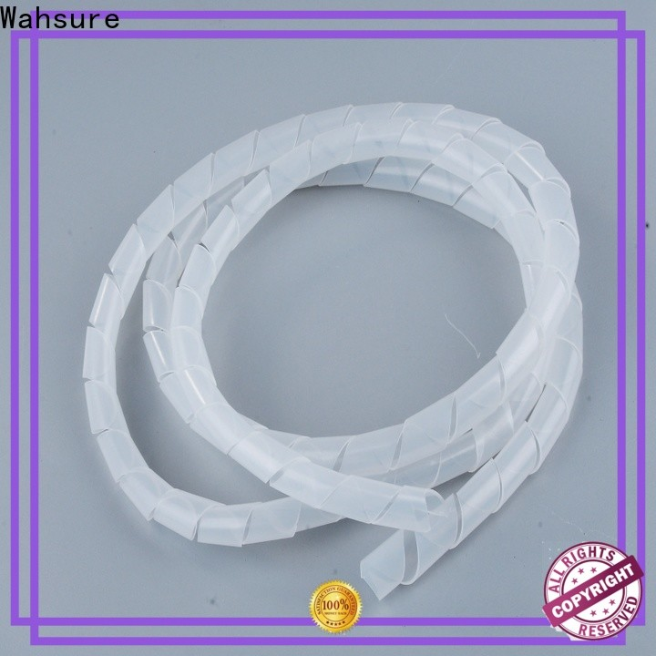 Wahsure custom spiral cable wrap suppliers company for sale