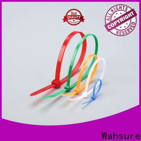 Wahsure high-quality clear cable ties company for wire