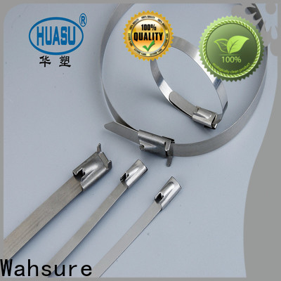 Wahsure latest industrial cable ties company for wire