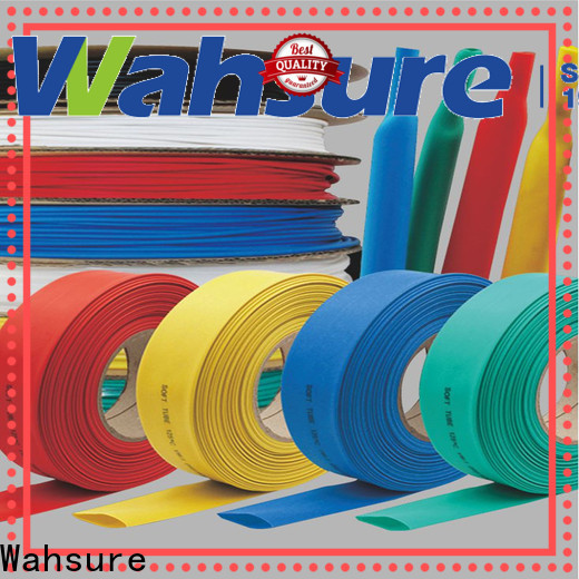 Wahsure flexible best heat shrink tubing manufacturers for industry