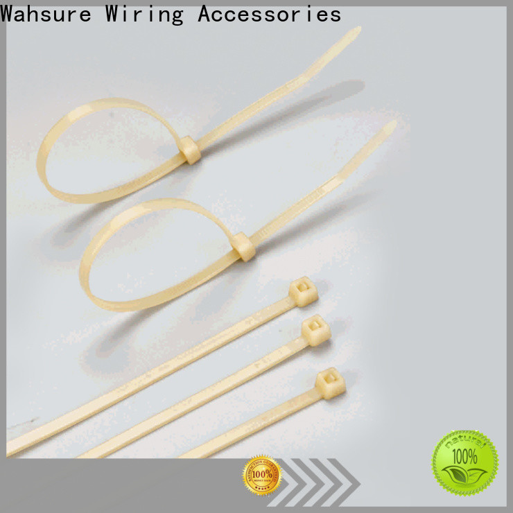 Wahsure industrial cable ties manufacturers for business