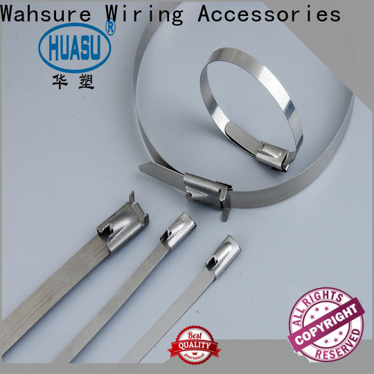 Wahsure top electrical cable ties manufacturers for industry