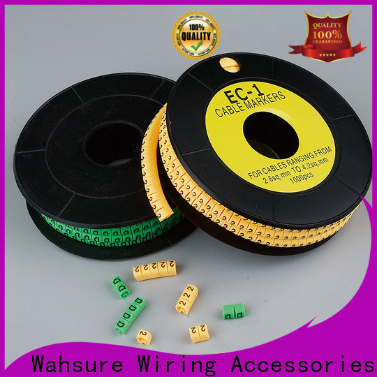 Wahsure electrical cable marker manufacturers for industry