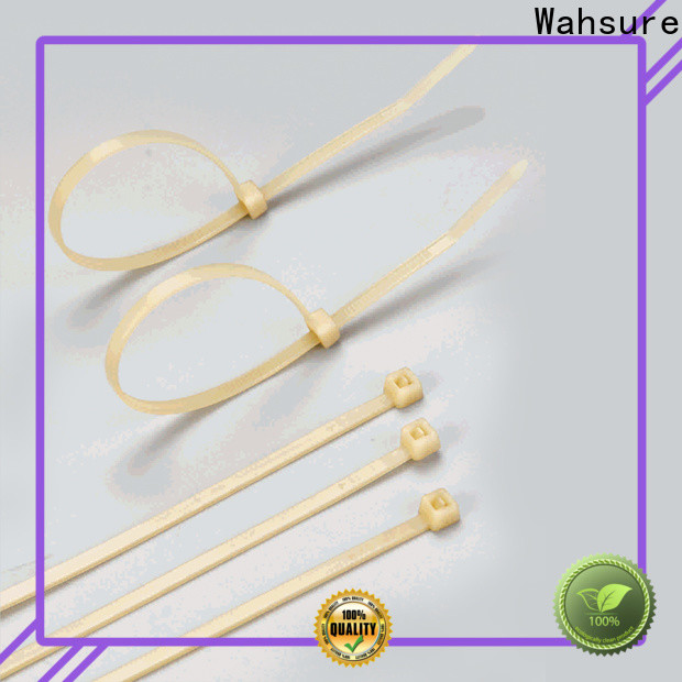 Wahsure clear cable ties suppliers for industry