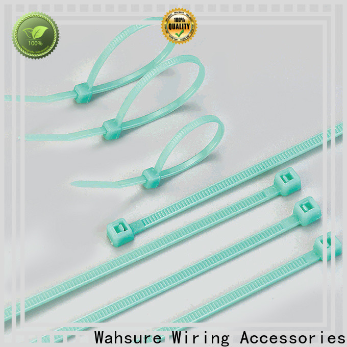 Wahsure clear cable ties company for wire