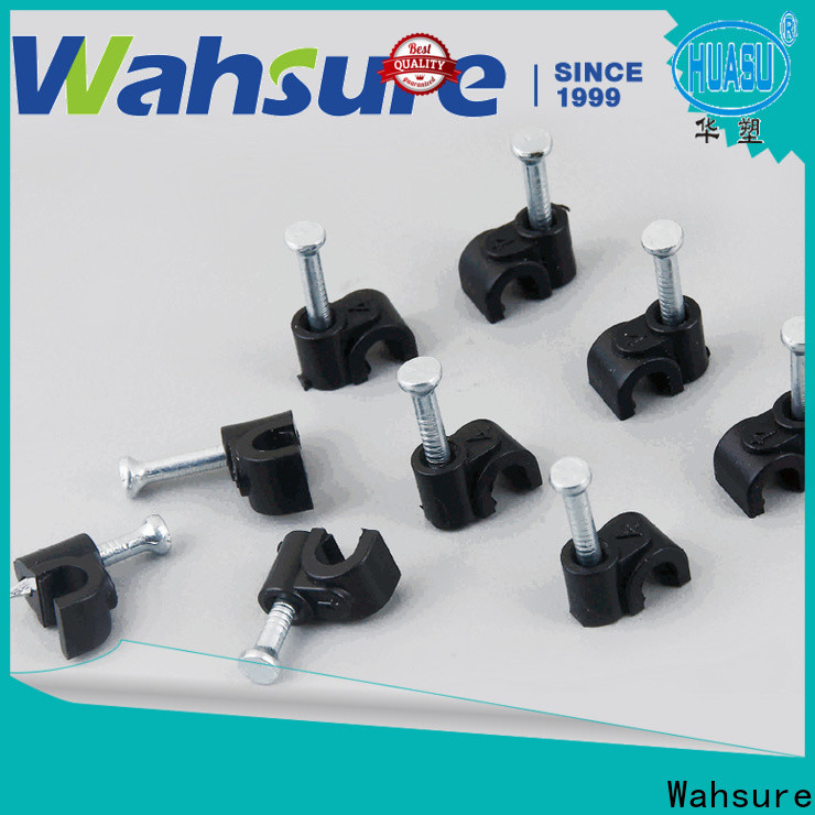 Wahsure latest cable wire clips company for industry