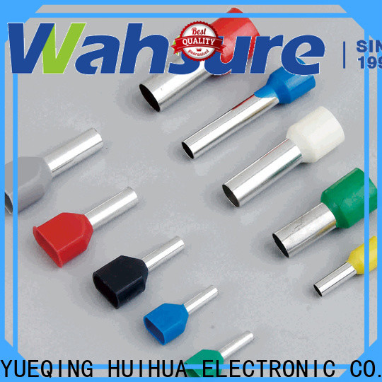 Wahsure best electrical terminals suppliers for industry