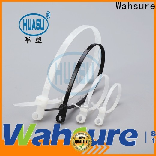 Wahsure wholesale cable tie sizes company for industry