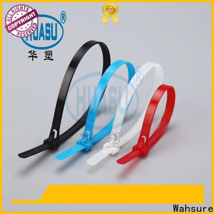 Wahsure high-quality cable ties wholesale manufacturers for business