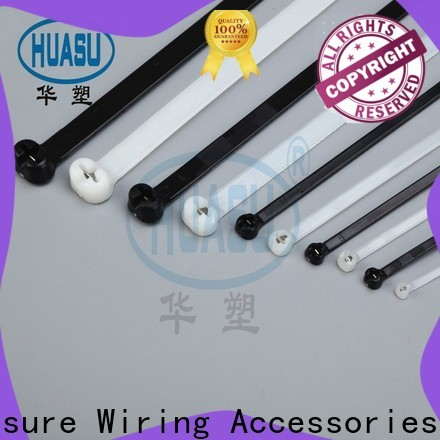 Wahsure custom clear cable ties suppliers for industry