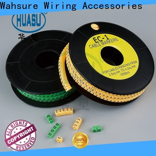 Wahsure wholesale electrical cable marker manufacturers for business