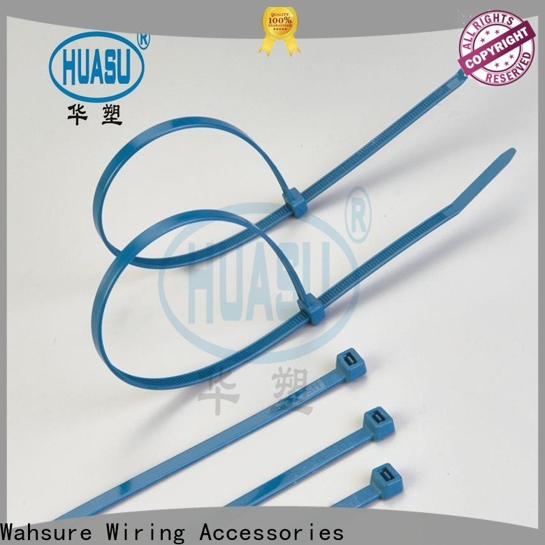 Wahsure clear cable ties factory for industry