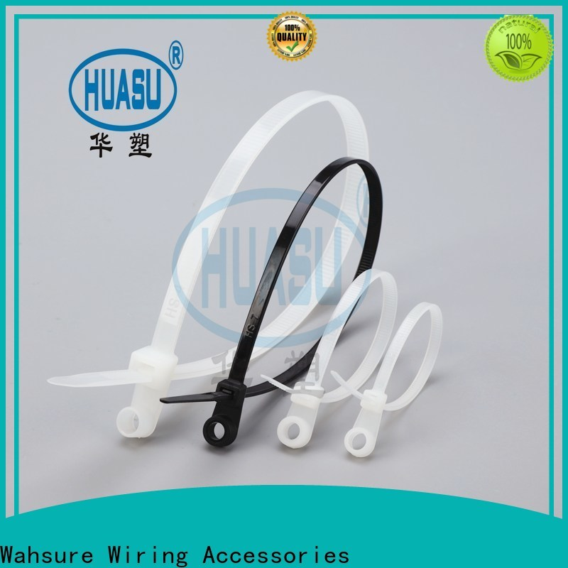 Wahsure auto cheap cable ties company for industry
