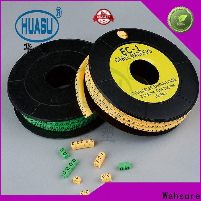 Wahsure new electrical cable marker company for industry