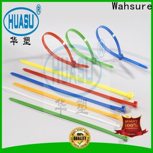 Wahsure wholesale cable tie sizes factory for industry