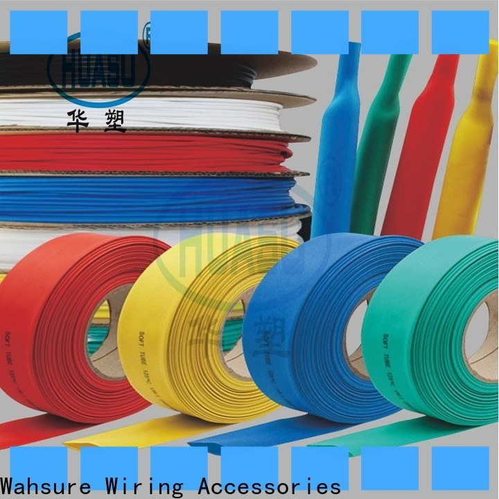 Wahsure best heat shrink tubing factory for industry