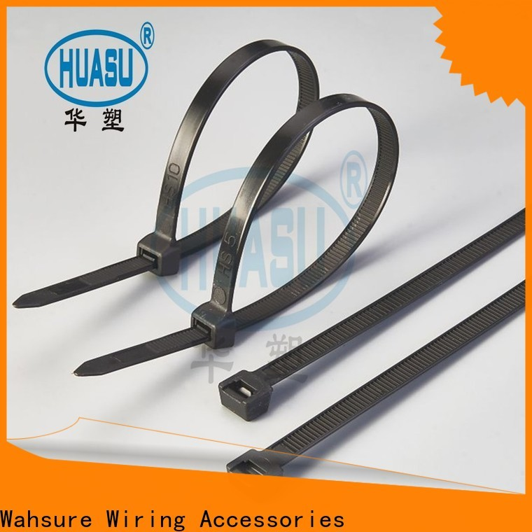 Wahsure clear cable ties supply for business