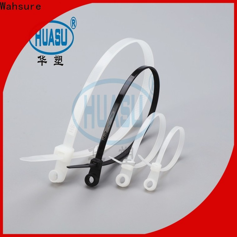 Wahsure best electrical cable ties manufacturers for wire