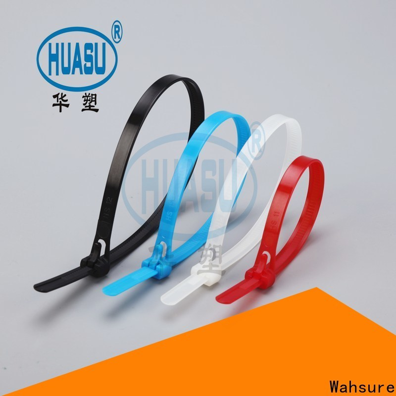Wahsure best cable ties wholesale suppliers for wire