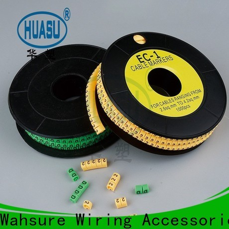 Wahsure cable markers manufacturers for business