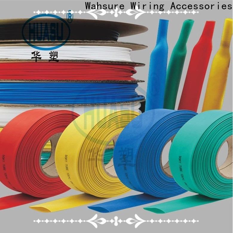 Wahsure high-quality best heat shrink tubing manufacturers for business