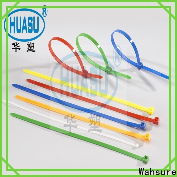 Wahsure new cable ties wholesale manufacturers for industry