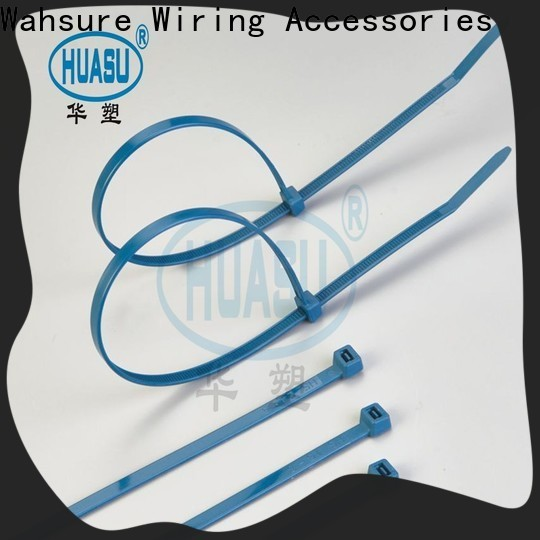 Wahsure self locking clear cable ties manufacturers for wire
