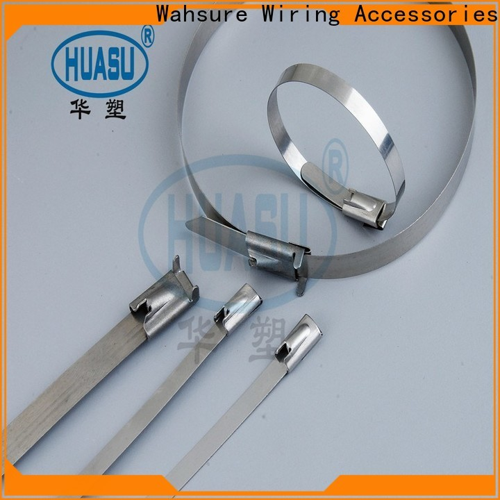 Wahsure wholesale cable ties factory for wire
