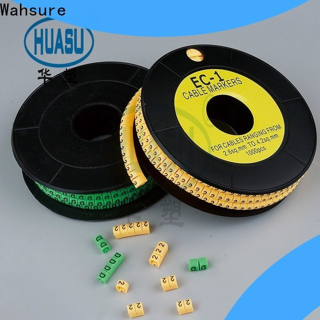 Wahsure custom cable markers supply for sale