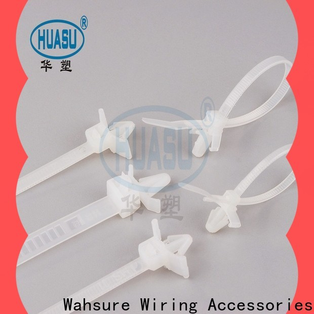 auto clear cable ties manufacturers for wire