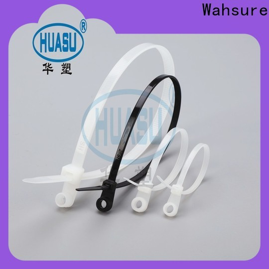 Wahsure self locking industrial cable ties suppliers for wire