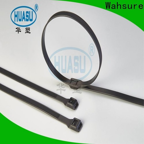 Wahsure auto cable ties wholesale factory for business