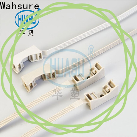 Wahsure latest electrical cable ties factory for industry