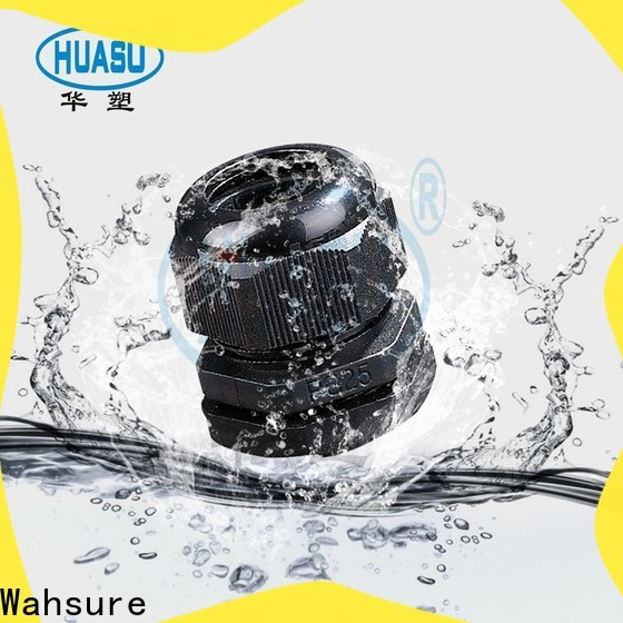 Wahsure electrical cable glands supply for sale
