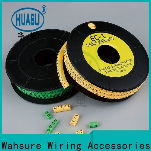 Wahsure new cable markers supply for sale