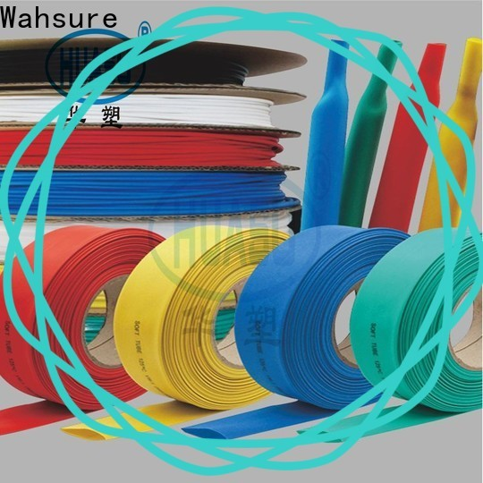 Wahsure heat shrinkable tube manufacturers for sale