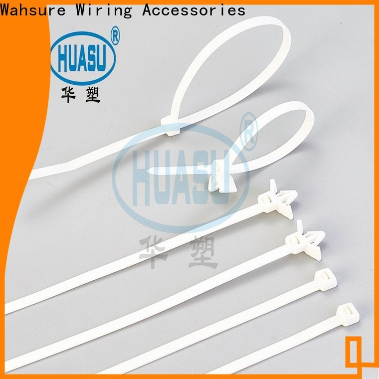 Wahsure custom cable ties company for industry