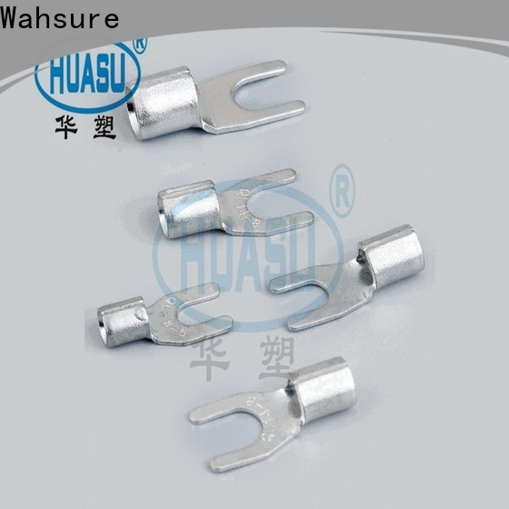 Wahsure quick terminals connectors factory for industry