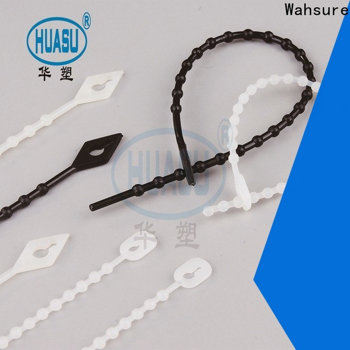 Wahsure cable tie sizes manufacturers for industry