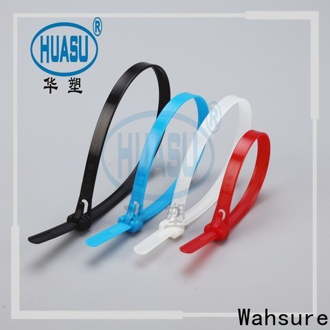 Wahsure self locking best cable ties factory for industry