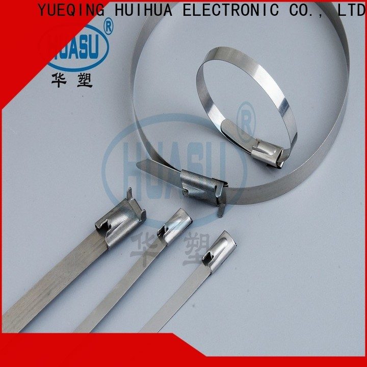 Wahsure auto clear cable ties manufacturers for wire