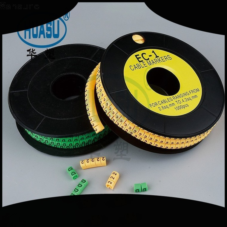 Wahsure high-quality cable markers supply for industry
