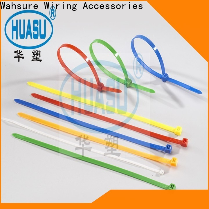 Wahsure high-quality clear cable ties suppliers for business