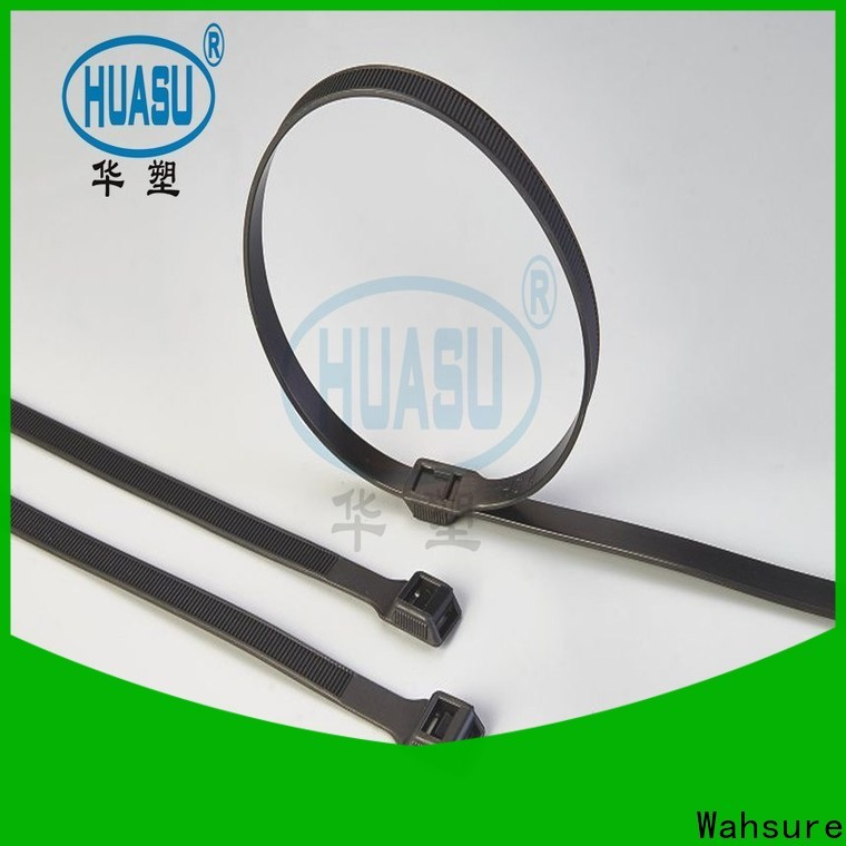 Wahsure self locking cheap cable ties suppliers for wire