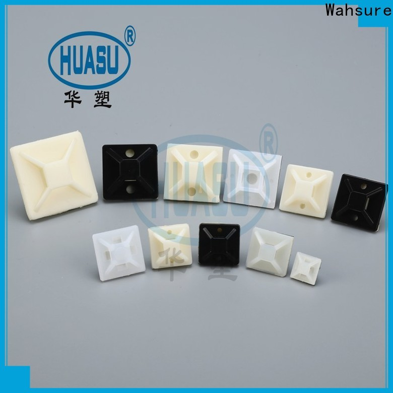 Wahsure cable mounts company for industry
