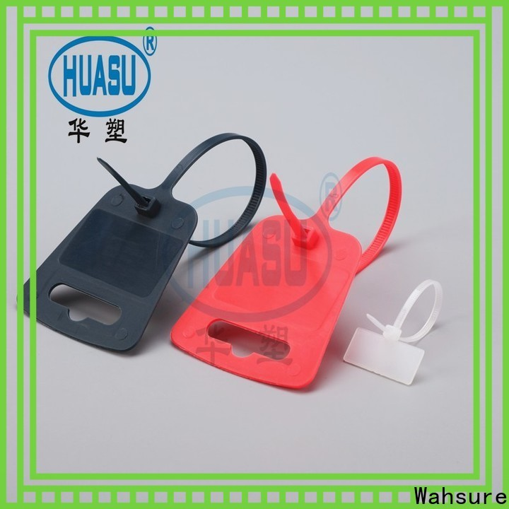 Wahsure electrical cable ties manufacturers for wire