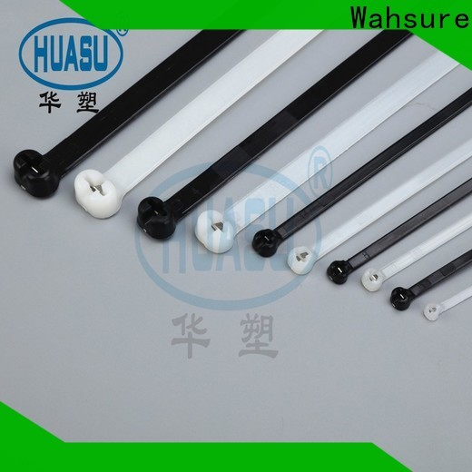 Wahsure high-quality cheap cable ties supply for industry