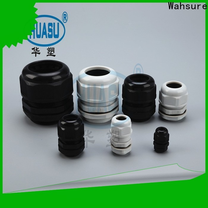 Wahsure new electrical cable glands supply for business