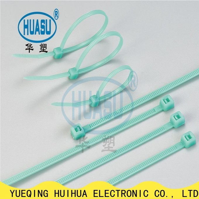 Wahsure custom cable ties wholesale manufacturers for wire